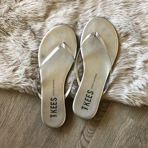 TKEES Highlighter Flip Flops In Fairylust